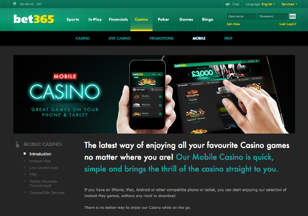 Bet365 Mobile Cashback