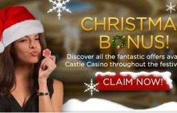Earn a Deposit Bonus & Unlimited Reloads at Castle Casino in December