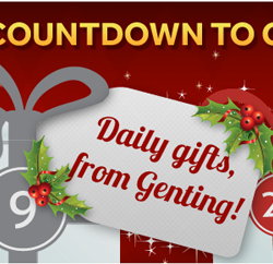 Try Your Luck in the Advent Calendar Promotion at Genting Casino