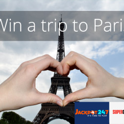Jackpot247 and SuperCasino Want to Whisk You Away to Paris…Bienvenue!