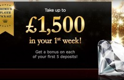 888 Casino Launch £1,500 Premium Package