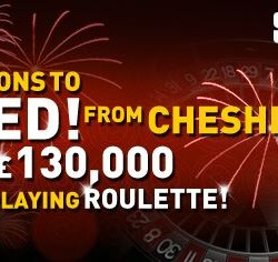Player Nabs £130,000 at SuperCasino Roulette Tables