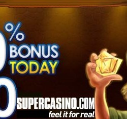 Jackpot 247 and SuperCasino Boost your Bankroll with £20 Extra!